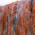 *Waterfalls On Mighty Uluru* by Ronald Rockman