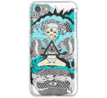 Vibora de tres colas | Three coiled snake iPhone Case/Skin