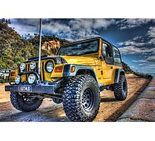 Jeep Wrangler Photographic Print
