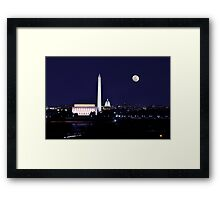 The District of Columbia - Washington D.C.  2012 Framed Print