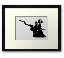 Elizabeth and Booker Framed Print