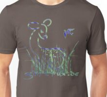 Fawn and Bird Unisex T-Shirt
