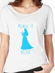 Make it BLUE Women's Relaxed Fit T-Shirt