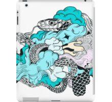 3 coiled snake iPad Case/Skin