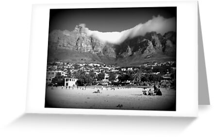 Camps Bay Cape Town by Jackie Barefield