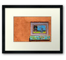 Espanola Window Framed Print