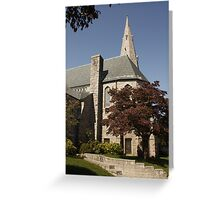 East Greenwich, Rhode Island, USA Greeting Card