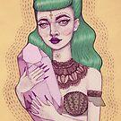 Crystal Queen by Annamaria Lützenburger