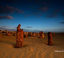 The Howling Pinnacle, Cervantes WA by Malcolm Katon