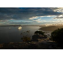 A Cruise Begins Photographic Print