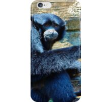 Siamang Having A Snack iPhone Case/Skin