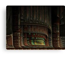 Psychedelic proscenium Canvas Print