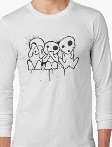 Kodama (Tree Spirits) Long Sleeve T-Shirt