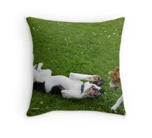 Tickle me! Throw Pillow