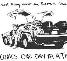 The Best Thing About the Future by wallyhawk