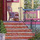 Porch with Basket by Susan Savad