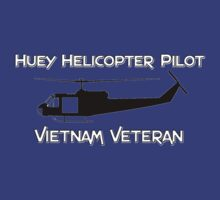 Huey Helicopter Pilot - Vietnam Veteran by Buckwhite
