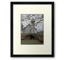 Country Church In Virginia Framed Print