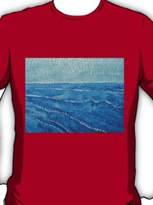 Japanese Waves original painting T-Shirt