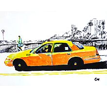 Taxi. Photographic Print