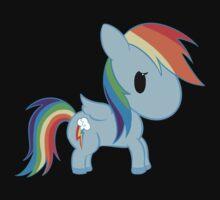 Chibi Rainbowdash Kids Clothes