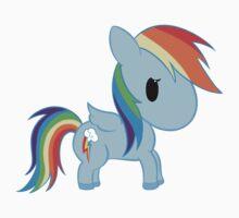 Chibi Rainbowdash Baby Tee