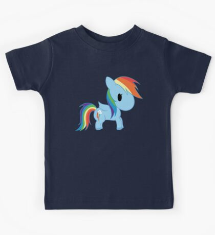Chibi Rainbowdash Kids Tee