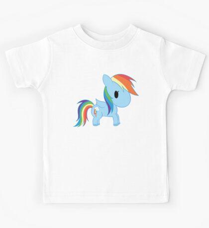 Chibi Rainbowdash Kids Tee