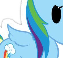Chibi Rainbowdash Sticker