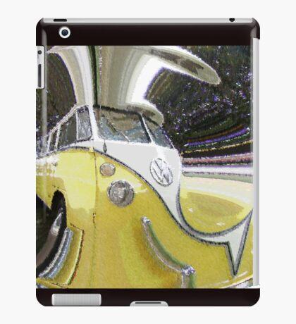 Psychedelic Volkswagen Van iPad Case/Skin