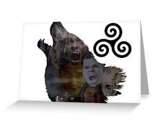 Teen Wolf Howl Greeting Card