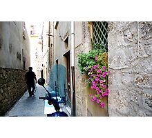 Backstreets of Ascoli Photographic Print