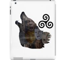 Teen Wolf Howl iPad Case/Skin
