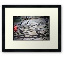 Steel Veins Framed Print