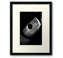 Shadow Stone Framed Print
