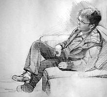 Pencil Portrait by jhjjjoo