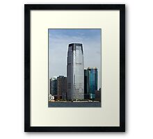 Goldman Sachs Tower, New Jersey, USA Framed Print
