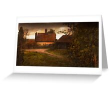 Cottage Greeting Card