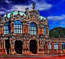 Zwinger Palace Dresden Germany by stockfineart