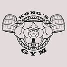 Kong's Gym by coinbox tees