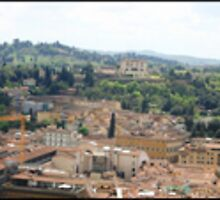 Florence Panorama by Laura Cameron