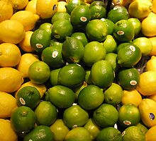Lemons and Limes by Bonita Dubil