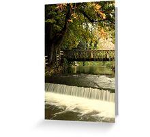 Riverside Greeting Card