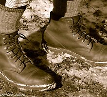 #583 Retro shoes #2 by MyInnereyeMike