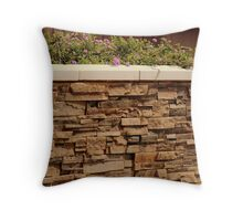 Handcrafted...............Cobble Wall Throw Pillow