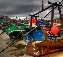 Low Tide at St Ives by Karl Normington