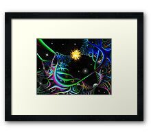 Space Time 162 Framed Print