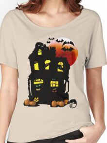 Halloween Mansion Women's Relaxed Fit T-Shirt
