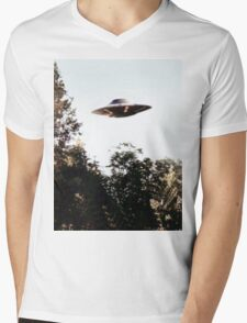 UFO Mens V-Neck T-Shirt