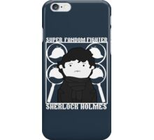 Super Fandom Fighter - Sherlock iPhone Case/Skin